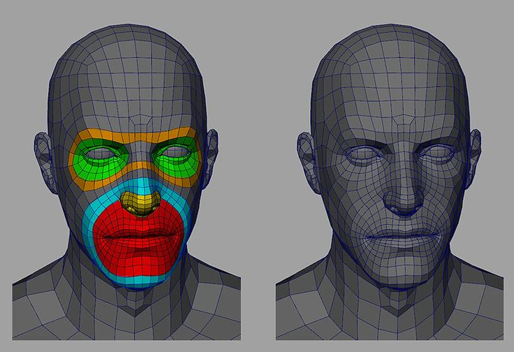 Hey everybody- I've been looking for topology for both the face and body in order to re-topologize my model.