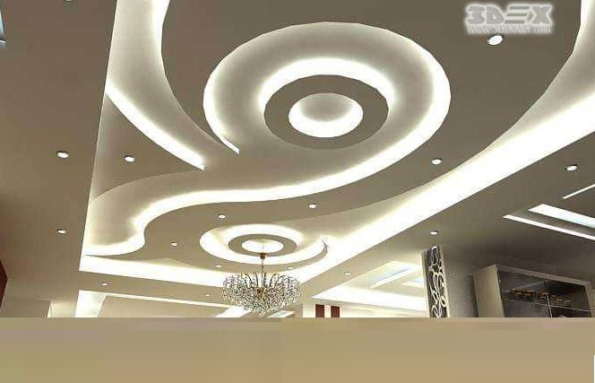 Circle Table Lamp Latest False Ceiling Designs For Bedrooms Pop Ceiling
