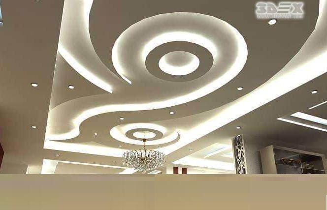 Latest False Ceiling Designs For Bedrooms POP Ceiling