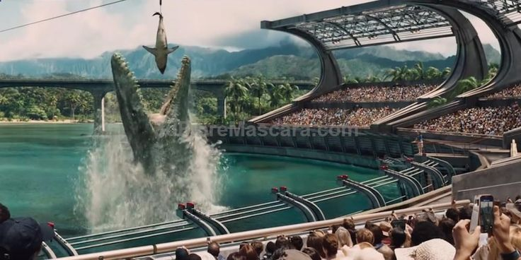 The new Jurassic World movie trailer features growling, grunting and shrieking dinosaurs. These bellows may make for good entertainment at theaters, but do paleontologists actually know how dinosaurs sounded? #movie #movies #newreleases #cinema #media #films #filmreviews #moviereviews #television #boxsets #dvds #tv #tvshows #tvseries #newseasons #season1 #season2 #season3 #season4 #season5