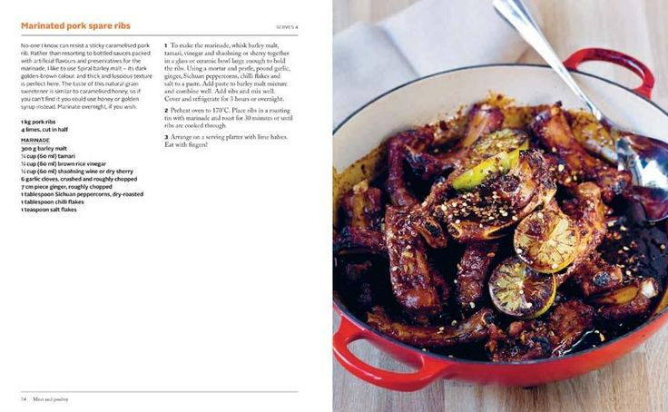 Marinated Pork Spare Ribs  found in  Kylie Kwong: Lantern Cookery Classics