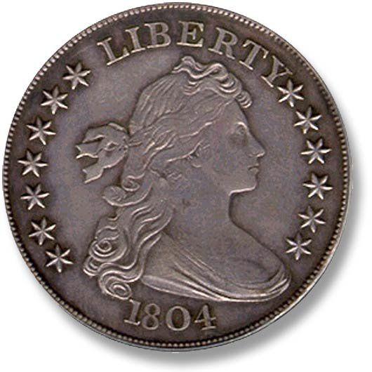 Draped Bust. Large Eagle. 1804