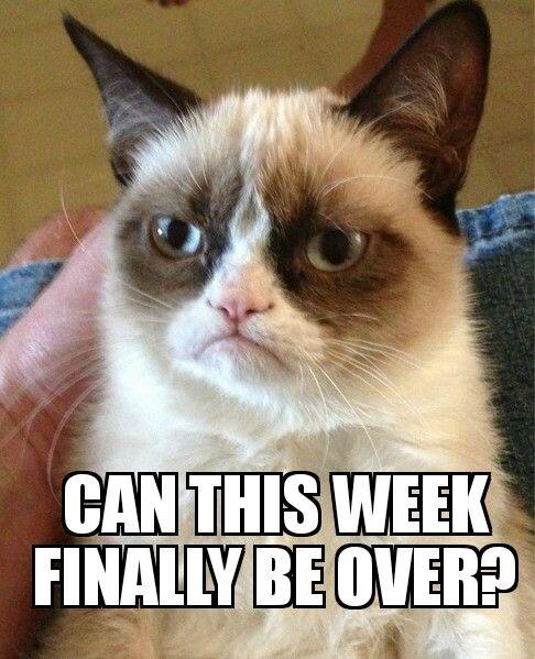 Can this week just be over already - #nurse #nursing #rn #meme #funny #memes #nursingschool