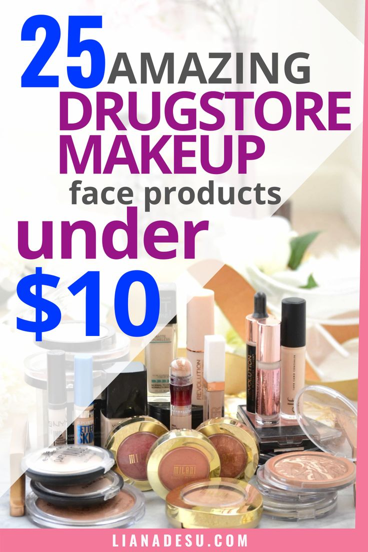 MustHave Drugstore Makeup Face Products Under 10 in 2020
