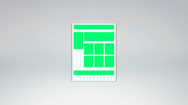 элементарный макет сайта