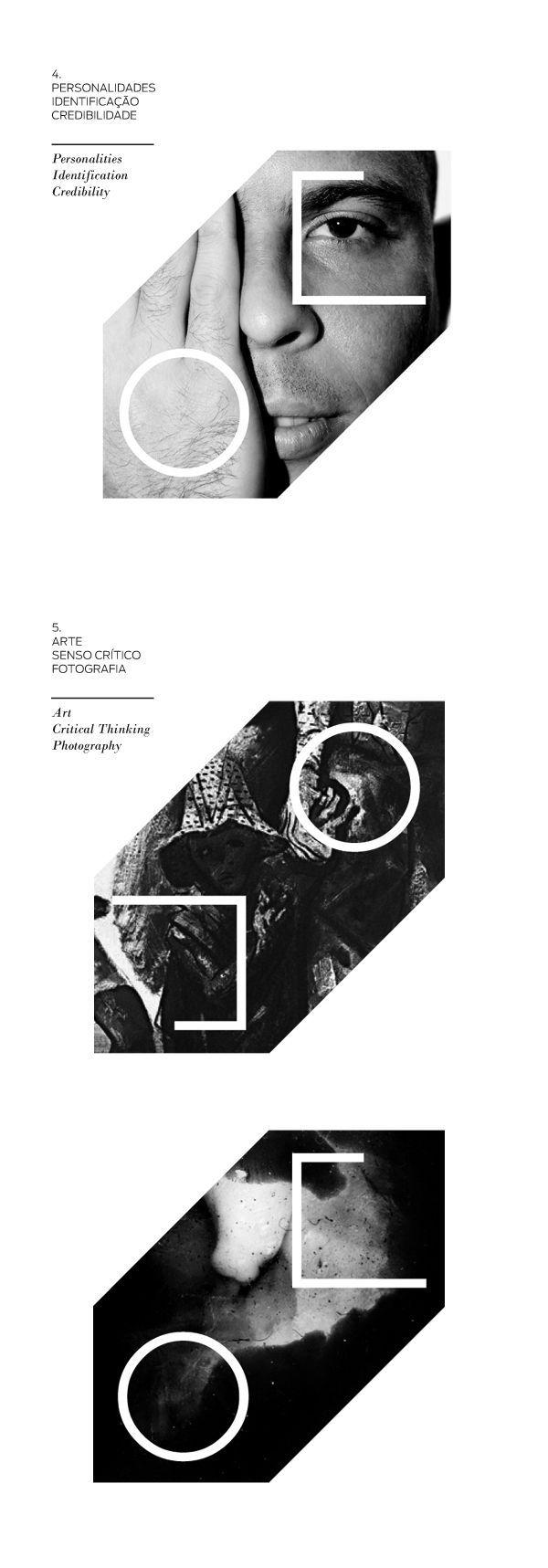 De Olho | Visual Identity by Pianofuzz , via Behance:
