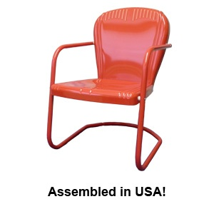 A Link To Retro Metal Chairs. In Their Blog, They Have An Entry On