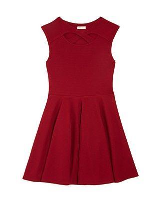 Sally Miller Girls' Brie Textured Dress - Sizes S-XL