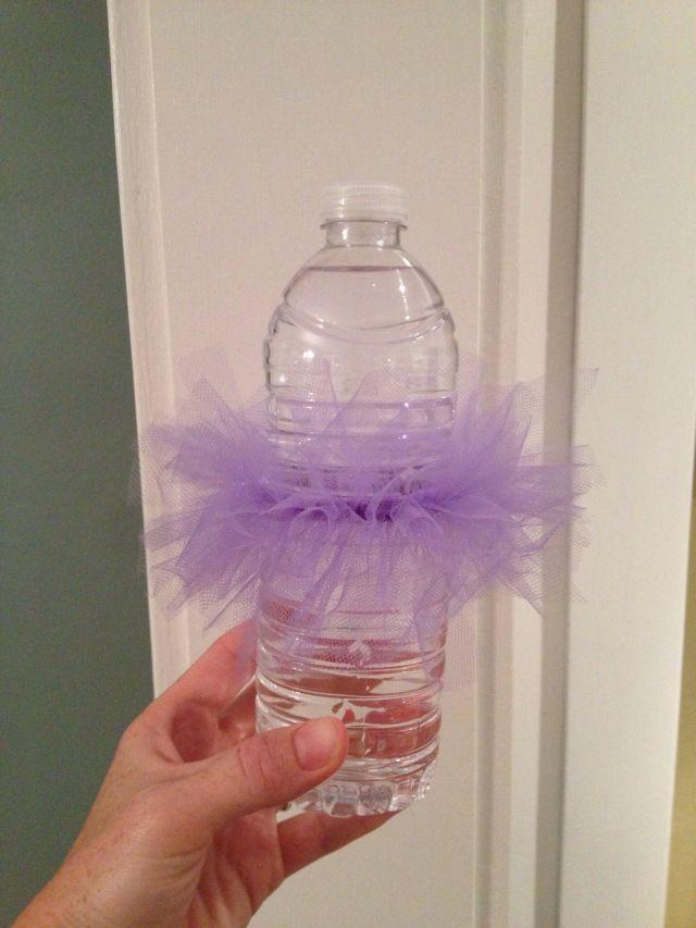 Water Bottle Tutus Jpg Boardroom Baby Shower Pinterest