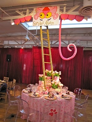 Pink Panther table - Love it!