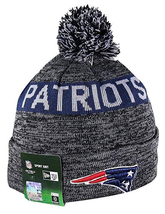 eae99ba3 NE PATRIOTS Sport Knit Winter Wool Warm Beanie Pom Hat, $23.89 | New ...