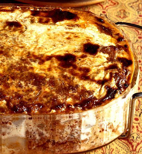 Moussaka med potatis | Recept från Köket.se
