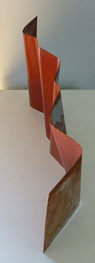 Tectonique I, 2014, JR Jonathan Roy artiste peinture sculpture