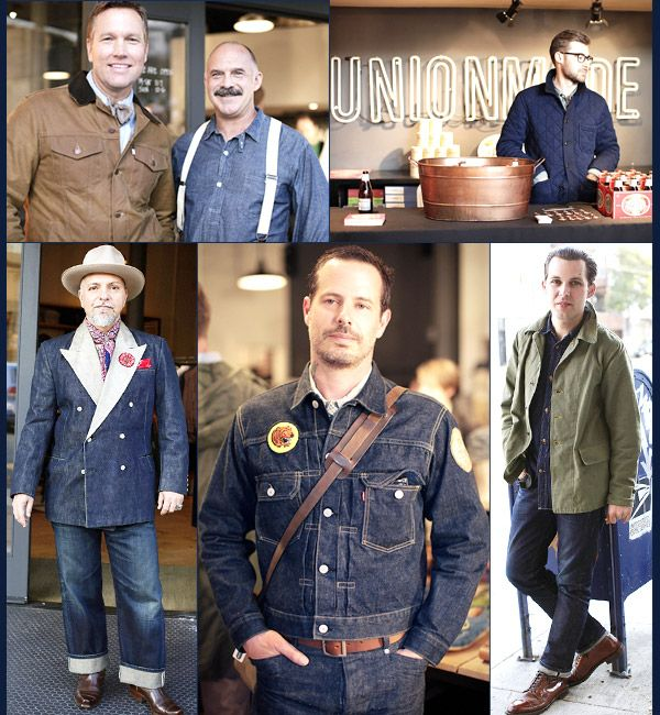 Levi's Vintage Clothing Miner launch party at Unionmade in SF.