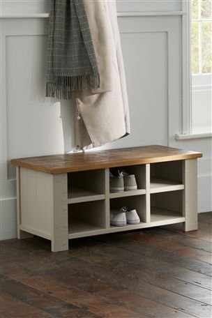 Hartford® Painted Cubby Bench from Next