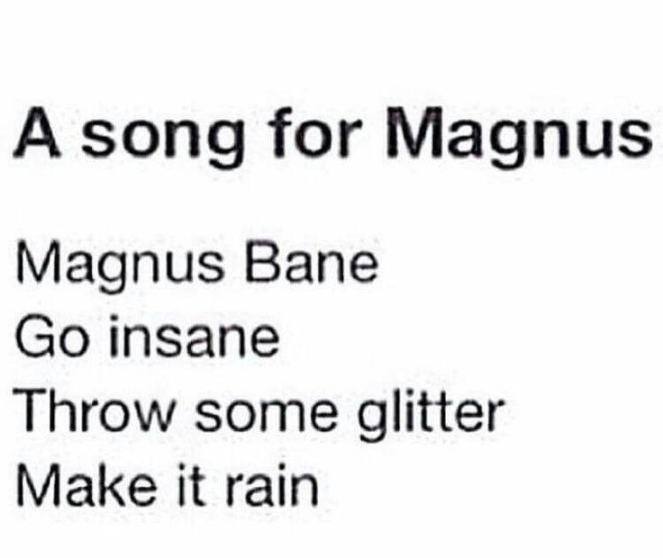 Magnus Bane // The Mortal Instruments // TMI