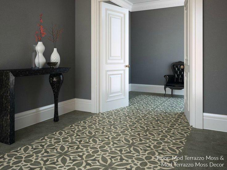 207 best tiles images on pinterest tiles cement tiles and floors mod terrazzo moss decor porcelain malvernweather Choice Image