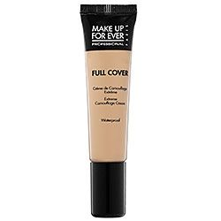 Make up Forever Full Cover Concealer. This covers well and works on both my dark circles and any blemishes. A little goes a long way!