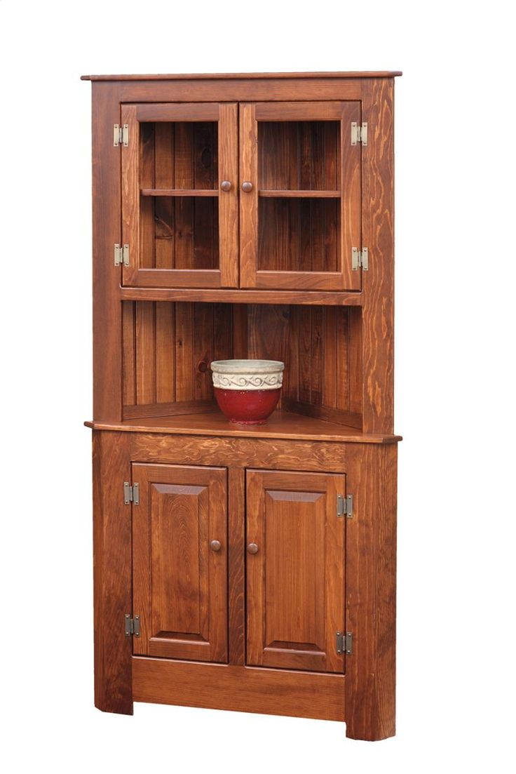 10 best corner hutch cabinet images on pinterest corner hutch dining rooms and corner on kitchen hutch id=48719