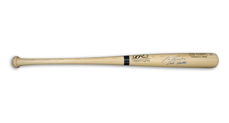 """""""Jose Canseco Autographed Rawlings Big Stick Baseball Bat Inscribed """"""""Bash Brother"""": """"Jose Canseco… #Sport #Football #Rugby #IceHockey"""