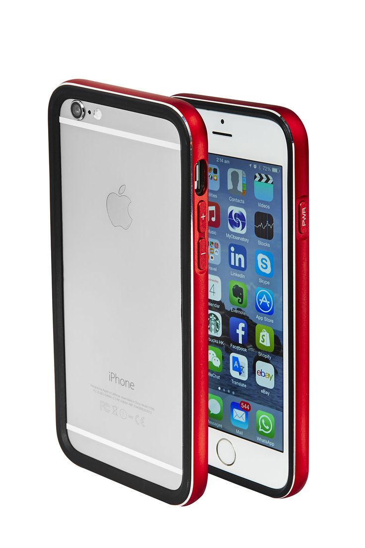 Cover iPhone 6  red by Skycover2015 only on http://www.ebay.it/usr/skycover2015