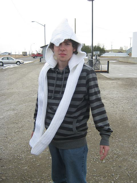 Ravelry: CandidQuilts' Assassin's Creed Hooded Scarf