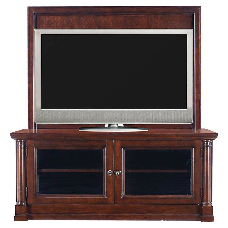 Bassett Furniture: Louis Philippe Credenza With Back Panel