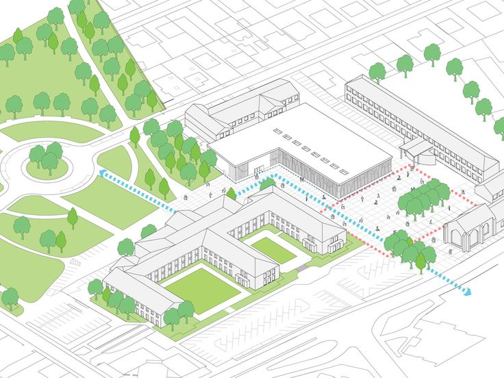 Gallery of Gymnasium and Town Hall Esplanade / LAN Architecture - 40