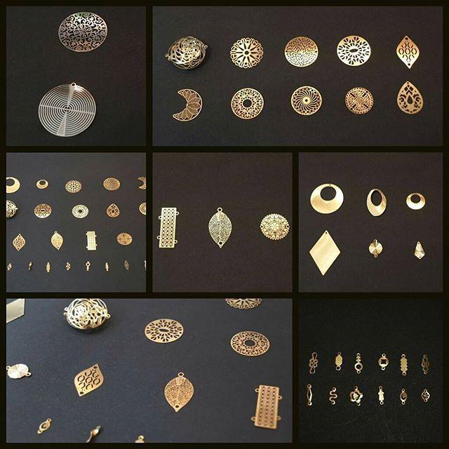 De jolis éléments en cuivre tout en finesse ont fait leur apparition il y a quelques temps au Comptoir à perles... Une collection qui stimule l'inspiration, n'est-ce pas? ☆ Venez la découvrir si ce n'est pas déjà fait! ;) #lecomptoiraperles #perles #apprêts #estampes #beads #beadsaddict #DIY #perlesaddict #faitmain #handmade #handmadejewelry #cuivre #copper #création #creation #bijoux #jewels #nofilter #jenfiledesperlesetjassume