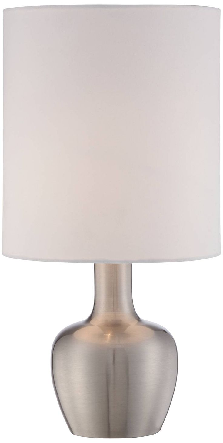 Table lamp touch - Betsy Brushed Steel 15 1 4 High Modern Touch Table Lamp