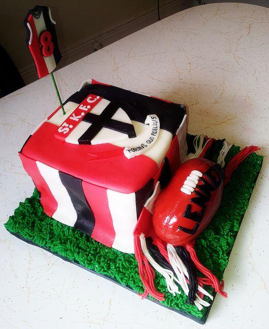 Saints Fan Happy Birthday Cakes cakepins.com