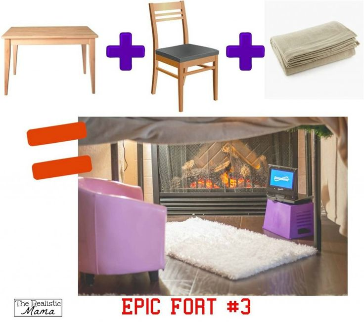 3 DIY Forts Using Household Items