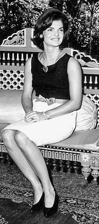 Jacqueline Kennedy in India, 1962 - Jacqueline Kennedy Onassis - Wikipedia, the free encyclopedia