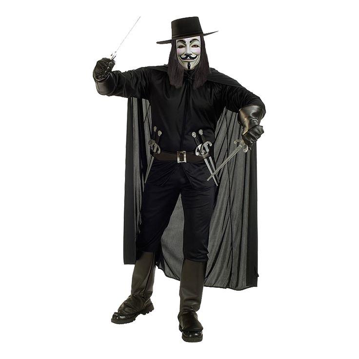 Med den licensierade dräkten V for Vendetta sätts Halloween 2013 på kartan.