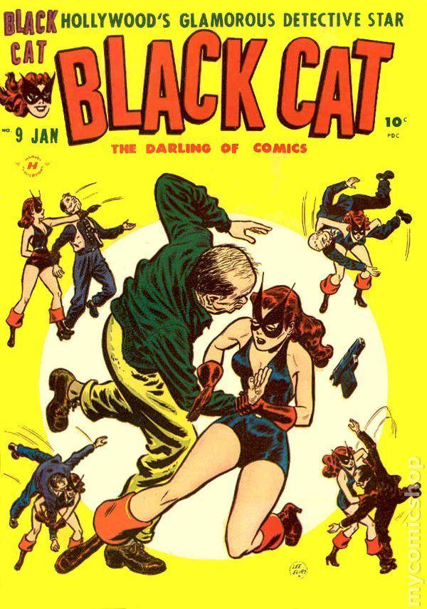 Black Cat Comics (1946 Harvey)