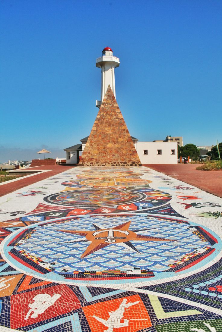 Sir Rufin Donkin memorial in Port Elizabeth Lighthouse in Alexandria,  Egypt