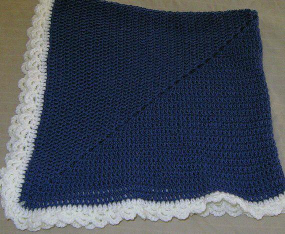 Crochet afghan handmade lap blanket granny by AfghansOffTheHook