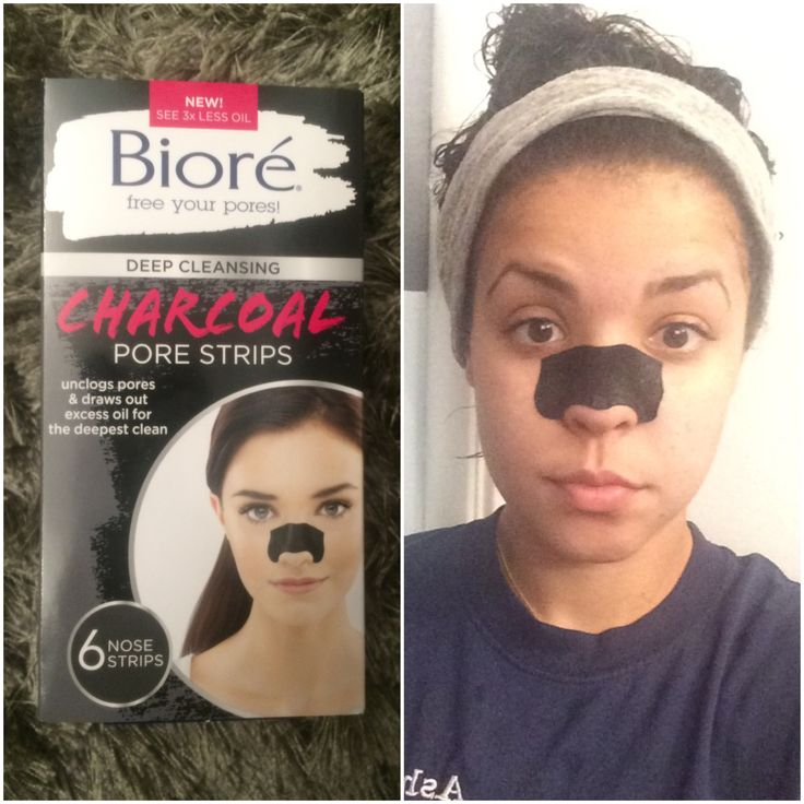 i have been searching for a good pore strip for awhile now, to help with the blackheads i get on my nose. i am loving these biore strips, they are super easy to use and actually work really well. you take the strip out of its packet, wet your nose, put the strip on and leave it for about 10 mins (until it hardens ) then peel it off. i definitely reccommend these little guys..i got mine at cvs..  #skincare #porestrips #biore #drugstore #cvs