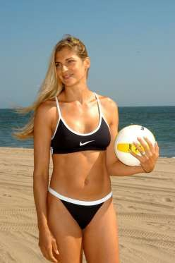 Gabrielle Reece - 6 feet 3 inches (1.91 meters) - Stephen Shugerman/Getty Images/Getty Images