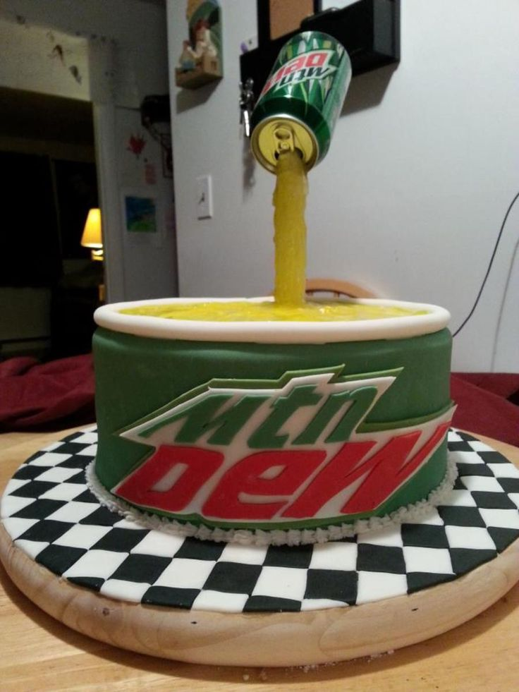 Mountain Dew Cake on Cake Central