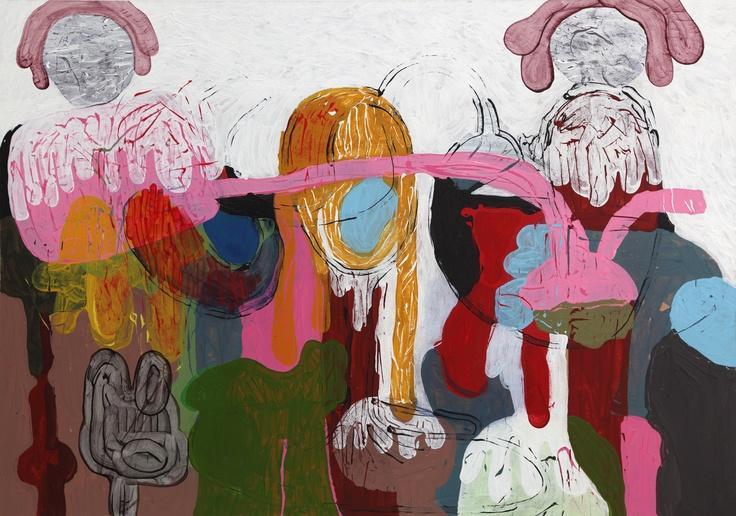 Equilibrium (2012) Painting by Norwegian artist Øyvind Suul. #art #painting #suul #2D #Norway