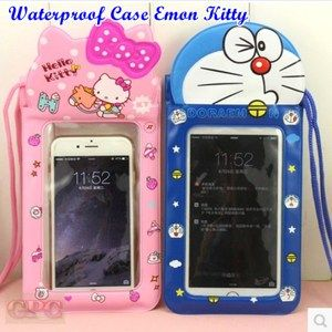 Waterproof Case Doraemon Hello Kitty WATERPROOF CASE DORAEMON HELLO KITTY - PELINDUNG HP ANTI AIR DORAEMON HELLO KITTY : SEBUAH KANTONG UNTUK PENYIMPANAN HANDPHONE AGAR TERHINDAR DARI AIR DENGAN KARAKTER DORAEMON DAN HELLO KITTY , LENGKAPI KOLEKSI AKSESORIS ANDA DENGAN PRODUK YG SATU INI.