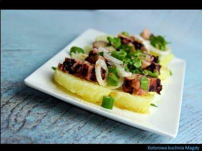 Kolorowa Kuchnia Magdy: Sałatka z ośmiornicą i młodymi ziemniakami