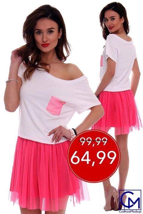 🌞🌹 TERAZ LENIE MODELE JESZCZE TANIEJ! 🌸🌷 Niebawem zobaczycie jeszcze więcej EXTRA CEN! (y) Link do produktu: http://bit.ly/SukienkaCM425 Stylistka Sara