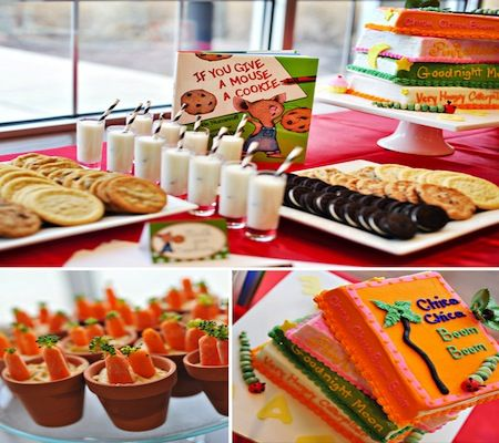 15 Book Theme Baby Shower Ideas | Disney Baby- In the future, I would like the book theme.  hint hint- Theresa!