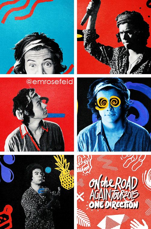 Harry Styles + OTRA (by @emrosefeld ****follow my On the Road Again Tour board for more edits like this****)