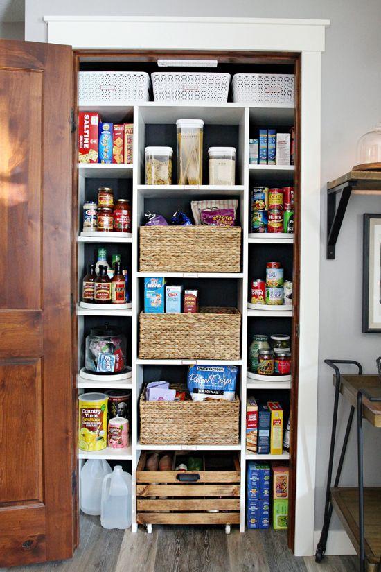 best 25 pantry closet ideas on pinterest pantry closet organization pantry door rack and. Black Bedroom Furniture Sets. Home Design Ideas