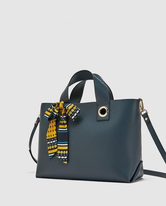 c478d62e333b Large Handbags · Women · Image 3 of MINI MONOCHROME TOTE BAG from Zara  Mini