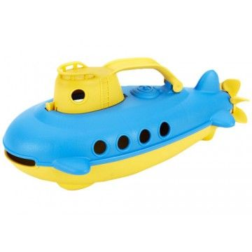 Green Toys - Eco Friendly Submarine  #entropywishlist # pintowin  Water play bath time fun