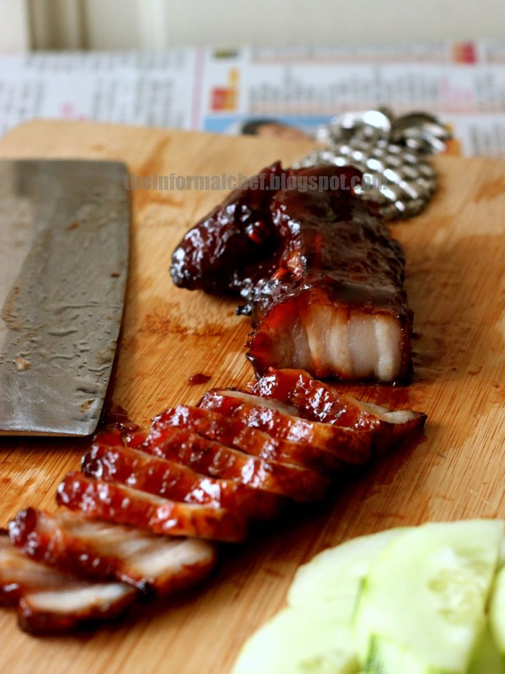 Ok, I have done it. It seems like every Chinese blogger that I could put my finger to has a recipe for Chinese bbq pork or more fondly ...